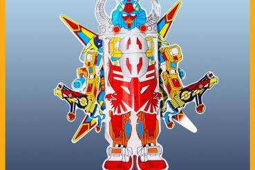 ĐÈN LỒNG ROBOT THẦN SÚNG